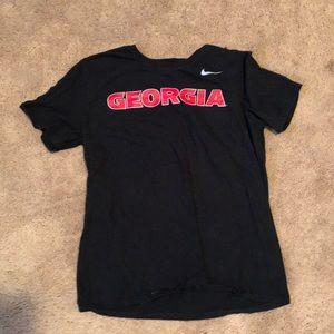 Nike Georgia Bulldogs men's size large shirt